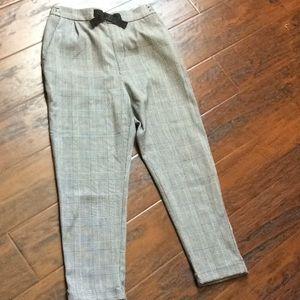 H&M plaid pants (children's)